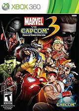 Marvel vs. Capcom 3: Fate of Two Worlds (Microsoft Xbox 360, 2011)