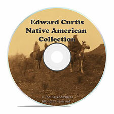 EDWARD S CURTIS, NORTH AMERICAN INDIAN CD, TURN OF THE CENTURY OLD PHOTOS ON CD