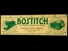 #4 Advertising Blotter BOSTITCH SALES AND SERVICE Bosto, Mass  Tel Handcock 1911