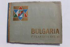 8172b BULGARIA FILMBILDER Zigaretten Album 1932 210 photo film cards