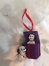 Disney Store exclusive Ornament 101 Dalmatians Figural Christmas