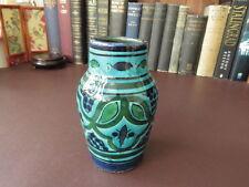 VASO MAIOLICA ITALIANO, ITALIANO STUDIO art pottery vase