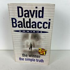 The Winner & The Simple Truth 2 Books in 1 by David Baldacci Paperback Book