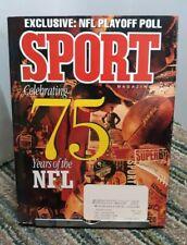 New listing Sport Magazine September 1994 75 Years of NFL Joe Montana Feature
