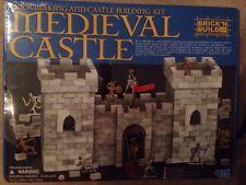 Brick N Build Brick Making And Castle Building Kit Medieval Castle