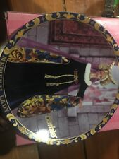 Medieval Lady 1995 Barbie Plate