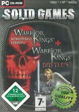 PC Spiel + WARRIOR Kings (Rem.) plus WARRIOR Kings BATTLES + 2 Spiele in Box +