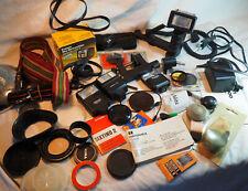 Appareil photo ancien - fort lot d'articles accessoires pour appareils photo