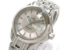 Auth OMEGA Sea master 2571.31 Silver 55841250 SS Women's Wrist Watch