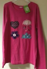 Camisetas y tops de niña de 2 a 16 años de color principal rosa 100% algodón