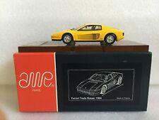AMR Factory Built 366/500 Ferrari Testarossa 1984 au 1/43