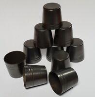 11 sizes of STANDARD BRASS WALKING STICK FERRULES 12mm - 25mm for Stick Making