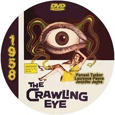 """The Crawling Eye (1958) Sci-Fi and Horror NR CULT """"B"""" Movie DVD"""