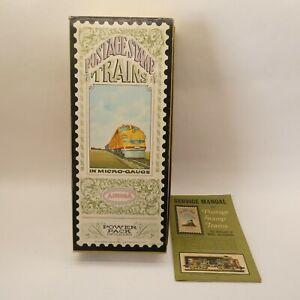 Aurora Postage Stamp Trains Service Manual Vintage 1968 Micro-Gauge w/ Box