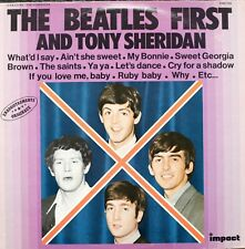 THE BEATLES FIRST AND TONY SHERIDAN - LP