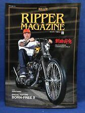 Ripper Magazine Vol.9 Old School Chopper Bike Morterbycycle Japan