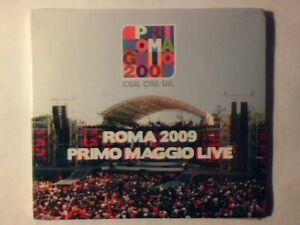 CD Roma 2009 primo Maggio live VASCO ROSSI NOMADI AFTERHOURS PFM SIGILLATOSEALED