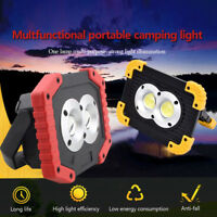 Waterproof 20W Portable COB LED Work Light USB Rechargeable Outdoor Camping Lamp