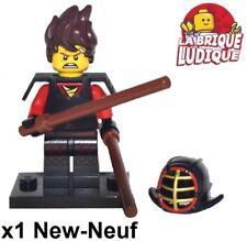 Lego - Figura Minifig Minifigura The Ninjago Movie Ninja Red Kendo Kai Nuevo