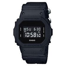 Casio Men's DW5600BBN-1 'G-Shock' Chronograph Black Nylon Watch