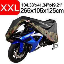 XXL Camo Motorrad Abdeckung Moto...