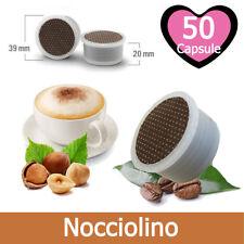 50 Capsule Caffè Kickkick Nocciolino Cialde Compatibili LAVAZZA ESPRESSO POINT