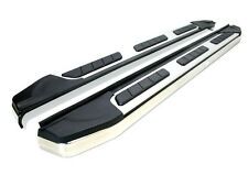 Cr-v 2012-On suburban aluminium acier inoxydable side steps barres marchepieds