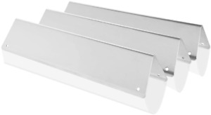 3Pcs Weber Spirit E-210 Grill  Parts Stainless Steel Flavorizer Bars