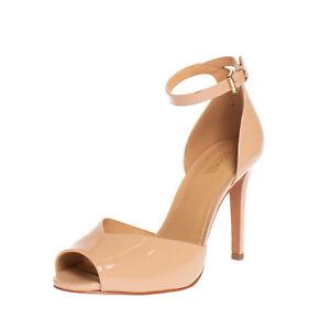 RRP €165 MICHAEL MICHAEL KORS Leather Ankle Strap Sandals EU 38 UK 5 US 7.5 Heel
