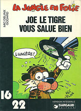 La jungle en folie Joe le tigre vous salue bien 1978 16/22 Dargaud