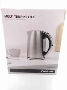 Cuisinart Signature Collection Multi-Temp Jug Kettle | 1.7L Capacity | Stainless
