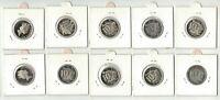 1992 Australia, 10 x 10c Proof Coins, Wholesale