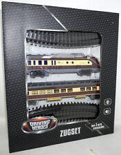 Eisenbahn Set Zug mit Sound- und Lichteffekten DRIVING HEROES UNBENUTZT OVP /P18