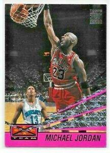 1993-94 Topps Stadium Club MICHAEL JORDAN Beam Team MEMBERS ONLY Bulls #4 of 27