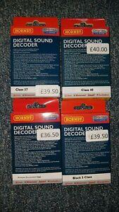 Hornby TTS Sound Decoders - BRAND NEW