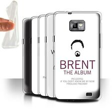 STUFF4 Gel/TPU Case/Cover for Samsung Galaxy S2/SII/Funny Office Sitcom