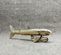 Vintage Petrol Lighter shark Handmade Steampunk