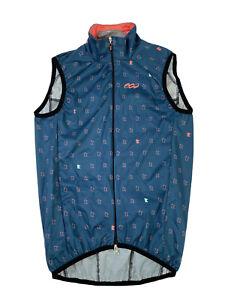 Podiumwear Men's XXS Boys Lightweight Cycling Vest Blue Minnesota Made