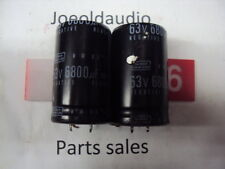 Marantz SR-3300 Capacitors 63V 6800UF. 1 Pair. Tested. Parting Out SR-3300.