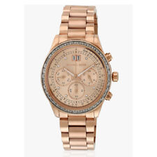 Michael Kors Rose Gold-Tone Brinkley Watch MK6204 $395