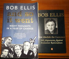 Bob Ellis And So It Went & Bob Ellis First Abolish the Customer 2 P/B