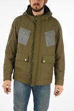 DROME men Jackets Bomber Hooded parka Coat Size M Peacoat New Green M (Standa...