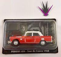 1/43 Norev Tour de France n°01 Peugeot 404 Directeur 1968