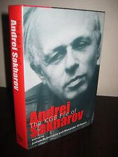 1st Edition KGB FILE ANDREI SAKHAROV Rubenstein COMMUNISM Espionage Spy HISTORY