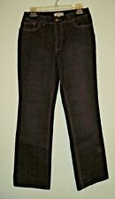 WOMENS COLDWATER CREEK JEANS SIZE 8 GREY/BROWN  POSSIBLY NEW W/O TAGS?