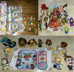 Disney Pixar Toy Story 4 Blind Bag Pick your Character Mini Figure Series Minis