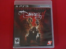PS3 THE DARKNESS II LIMITED EDITION Shooter Sony Playstation 3 W/Poster NO DLC