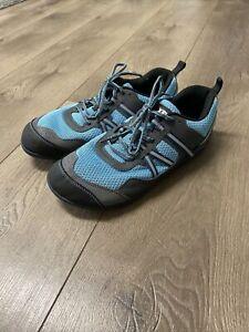 Xero Prio Running Blue Gray Minimalist Running Shoes Size 11 Women's