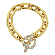$145 NWT MICHAEL KORS Pave Toggle Bracelet ** CHOOSE COLOR **