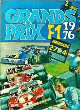 Grand Prix F1 1976 Mario Lini Willy Richard Formule 1 BD Bande dessinée course